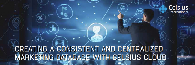 Data drives Marketing success with CelsiusCloud